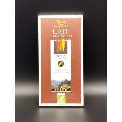 CHOCOLAT LAIT FLEUR DE SEL...